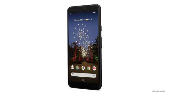 Can the display of the Pixel 3A be turned around?
