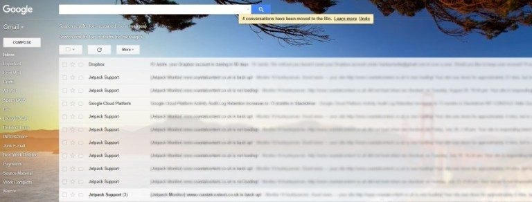Just how to transform the history of Gmail and also various other methods
