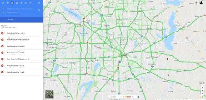 Exactly how to examine website traffic on Google Maps