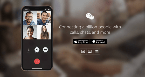 Exactly how to run conversation background from WeChat