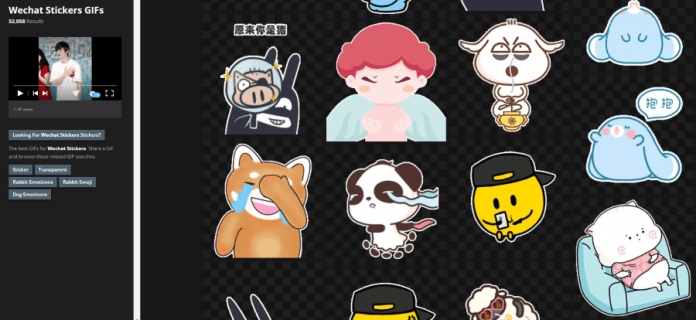 Just how to obtain sticker labels on WeChat