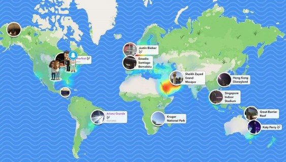 Just how to check out as well as make use of Snapchat maps
