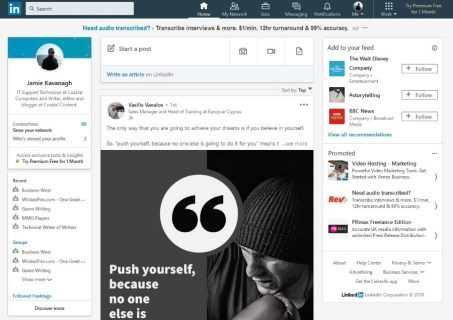 Just how to see if a person has reviewed your LinkedIn message?