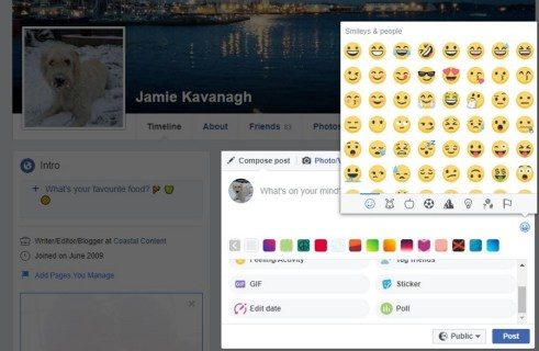 Just how to make use of emojis on Facebook