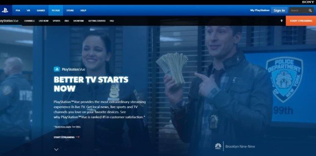 Just how to alter your place on PlayStation Vue