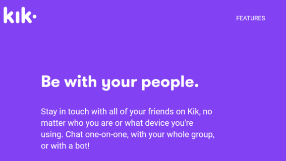 What to do if you obtain Kik messages stuck on D for distribution