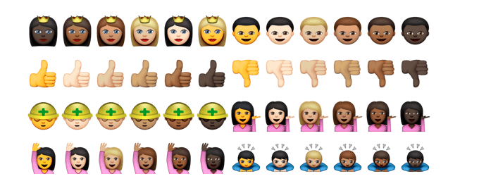 Exactly how to transform the skin shade of Emoji on your apple iphone, iPad or Mac