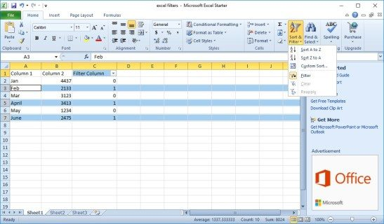 Just how to erase all various other rows in Excel