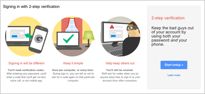 Exactly how to safeguard Gmail with 2-factor verification