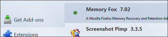 Memory Fox 7.02 for Firefox