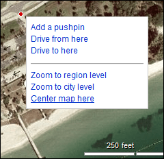 Obtain works with in Google Maps or Bing Maps (exactly how)