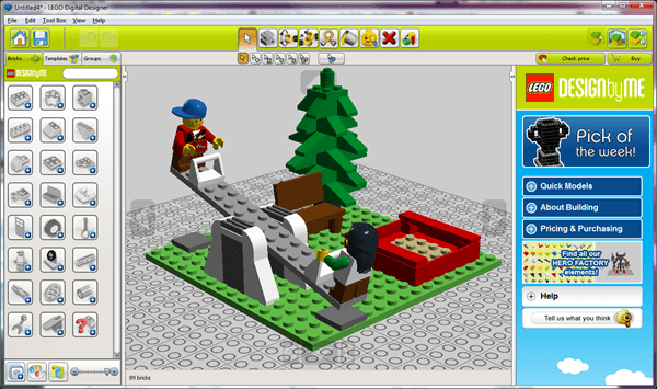 Time to have fun with blocks: LEGO Digital Developer