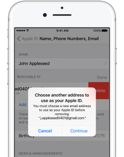 Exactly how to transform your Apple ID