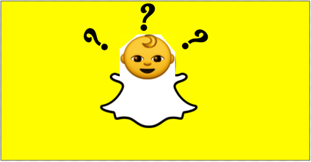 What does infant face suggest in SnapChat