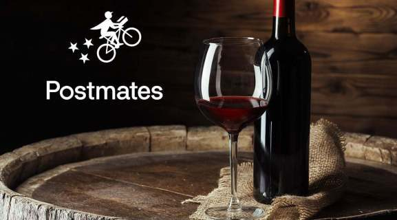 Can postmen provide a glass of wine?