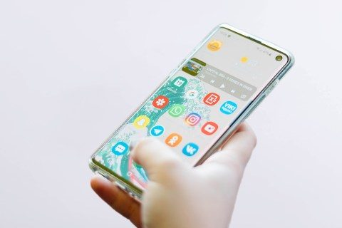 Find out how to use the non-public mode on the Galaxy S10