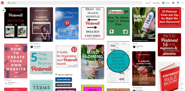 Exactly how to alter the cover of Pinterest