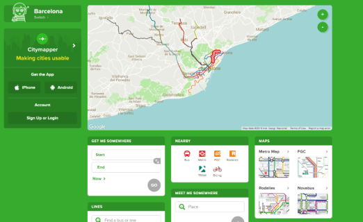 Exactly how to transform city right into Citymapper