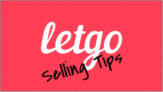 Sales Tips on Letgo