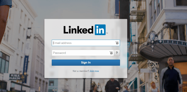 Exactly how can I transform my Linkedin account without being alerted of links?