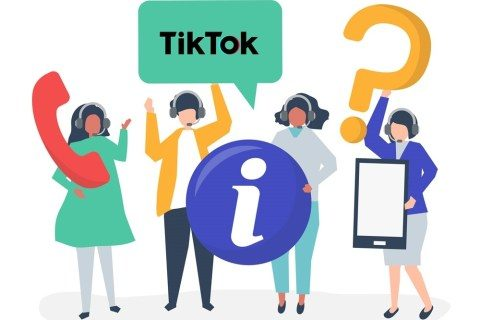 What is the contact number for Tik Tok assistance